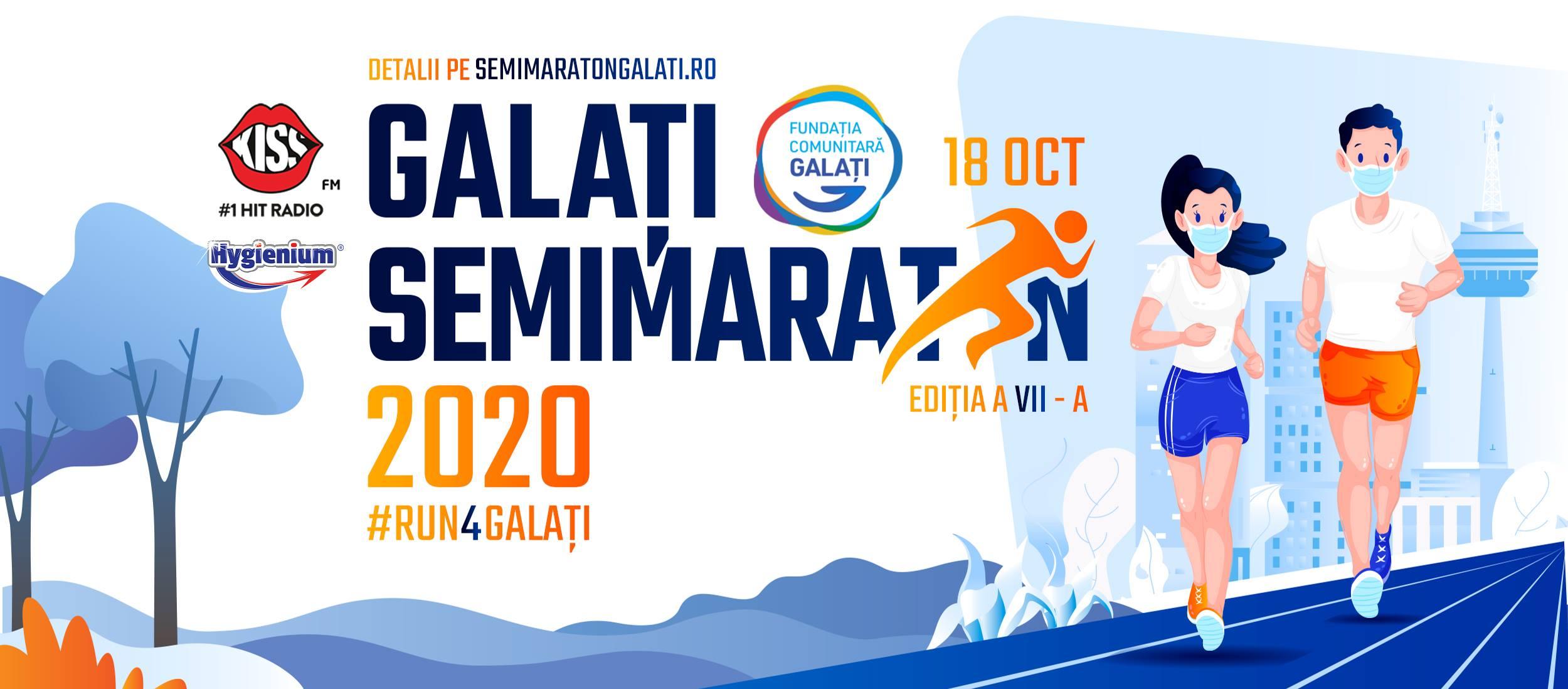 Corremos por uma causa nobre - Meia Maratona de Galați 2020