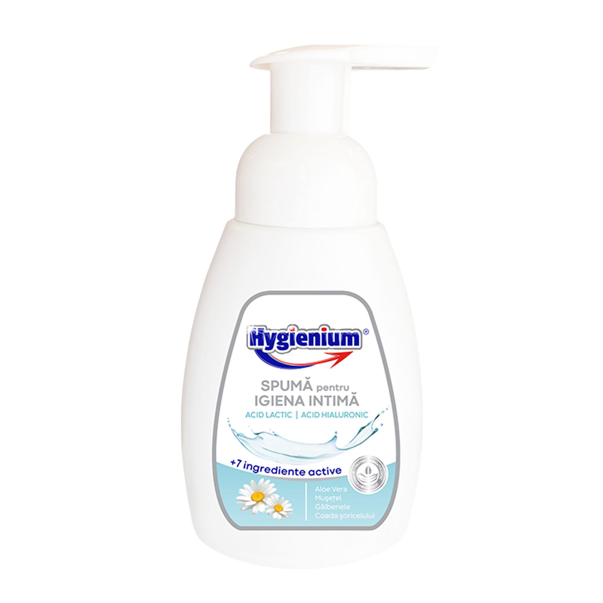 Hygieneschaum für die Intimhygiene