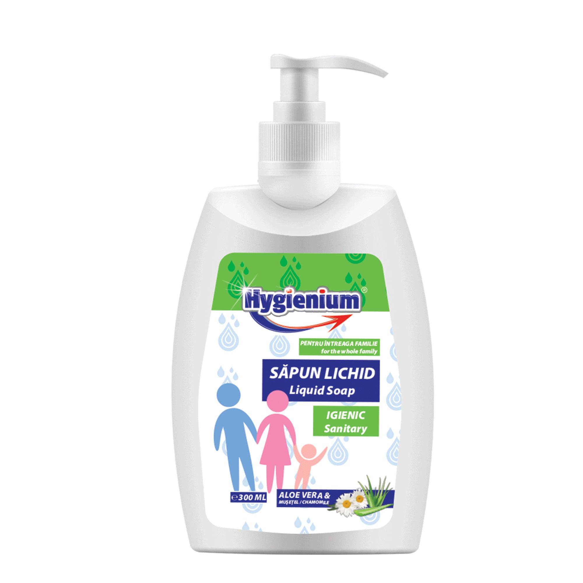 Hygienium sapun lichid aloe vera & musetel
