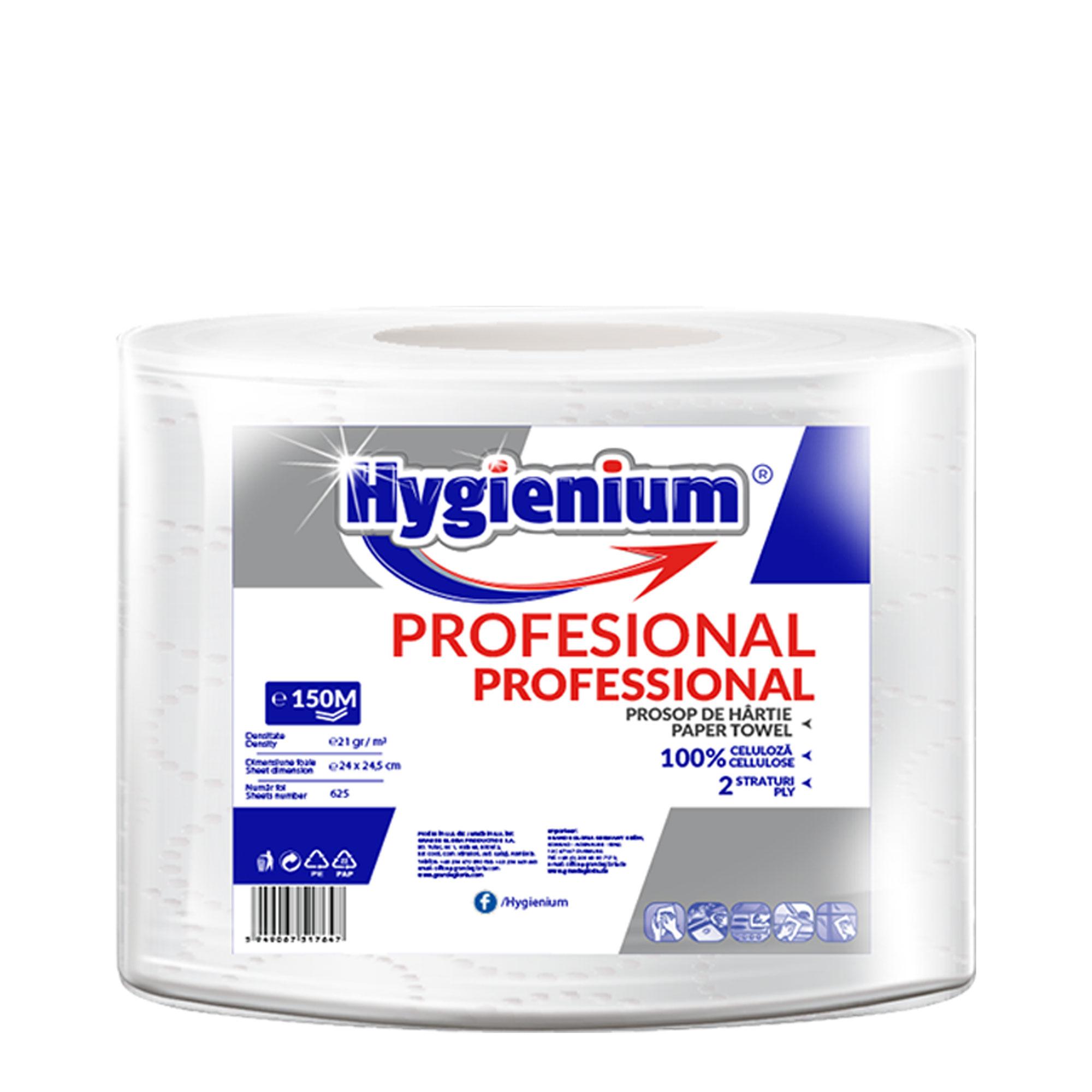 Hygienium Professional Prosop hartie 150 M