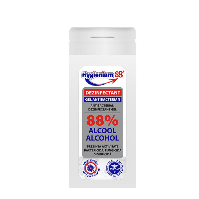 Hygienium gel antibacterian 88%, 50 ml