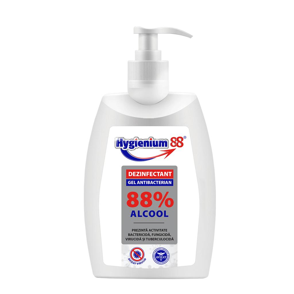 Gel antibatterico Hygienium 88%, 300 ml