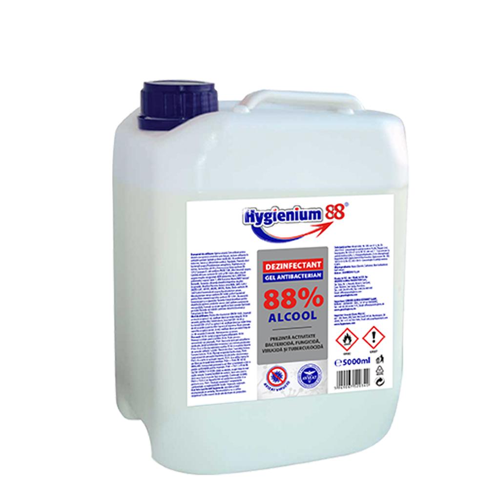 Hygienium gel antibacterian 88% 5L