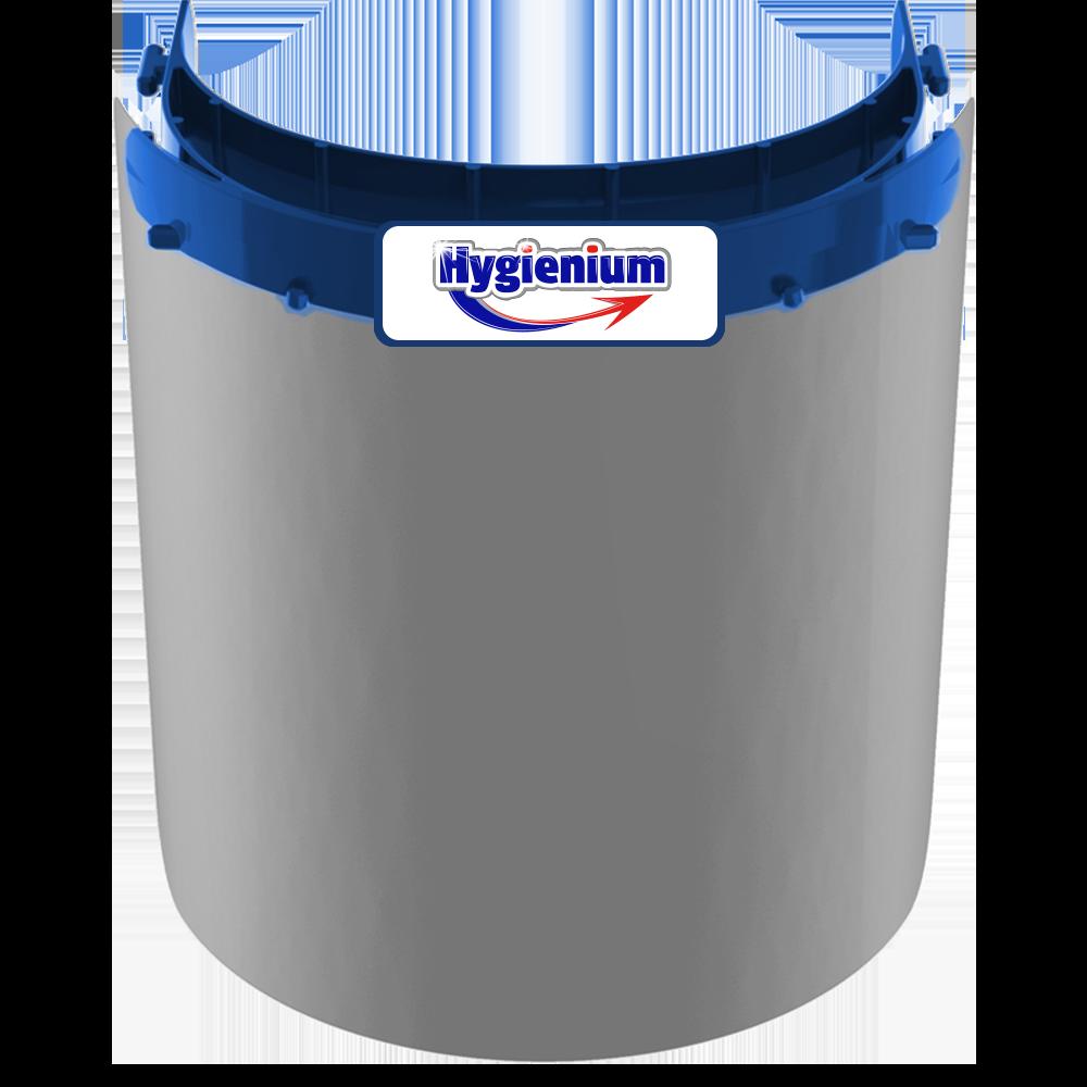 Visor transparente higiênico