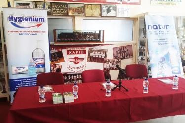 Einführung von Almanah Giulesti Rapid Bukarest